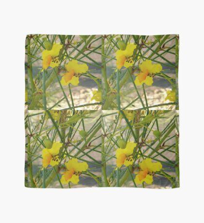 Yellow flowers Scarf