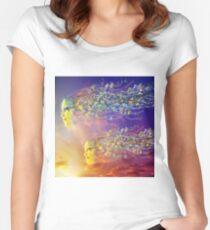 SUMMER BREEZE Women's Fitted Scoop T-Shirt