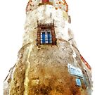 Vatolla: tower by Giuseppe Cocco