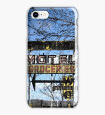 Route 66 New Mexico ~ Modern Ruins iPhone Case/Skin
