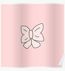 Pink Bow Poster