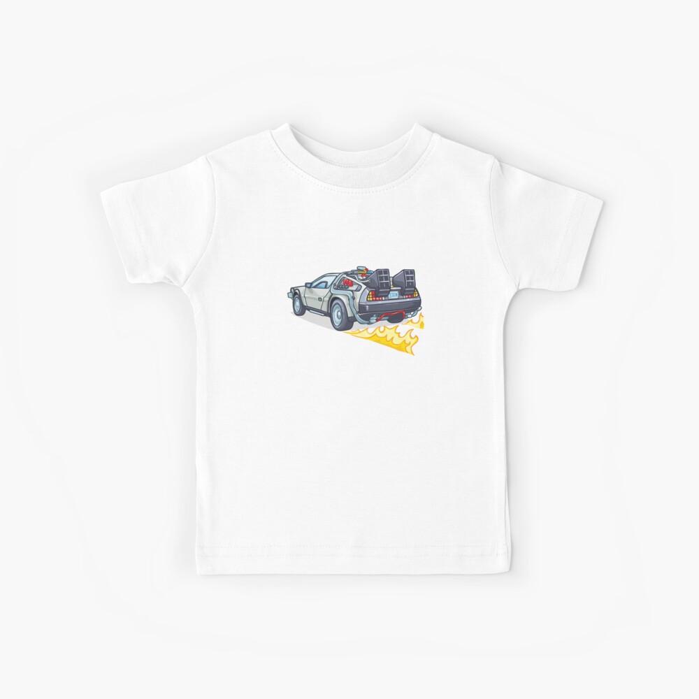 D.M.C OUTATIME Kids T-Shirt