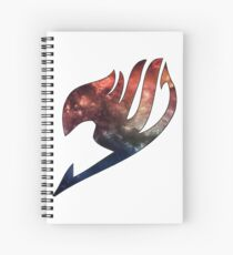 Fairy Tail Space Symbol Spiral Notebook