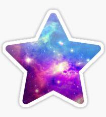 Black Star Sticker