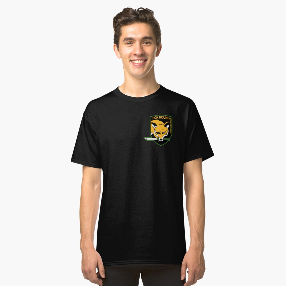 Metal Gear Solid - Fox Hound Emblem Classic T-Shirt Front
