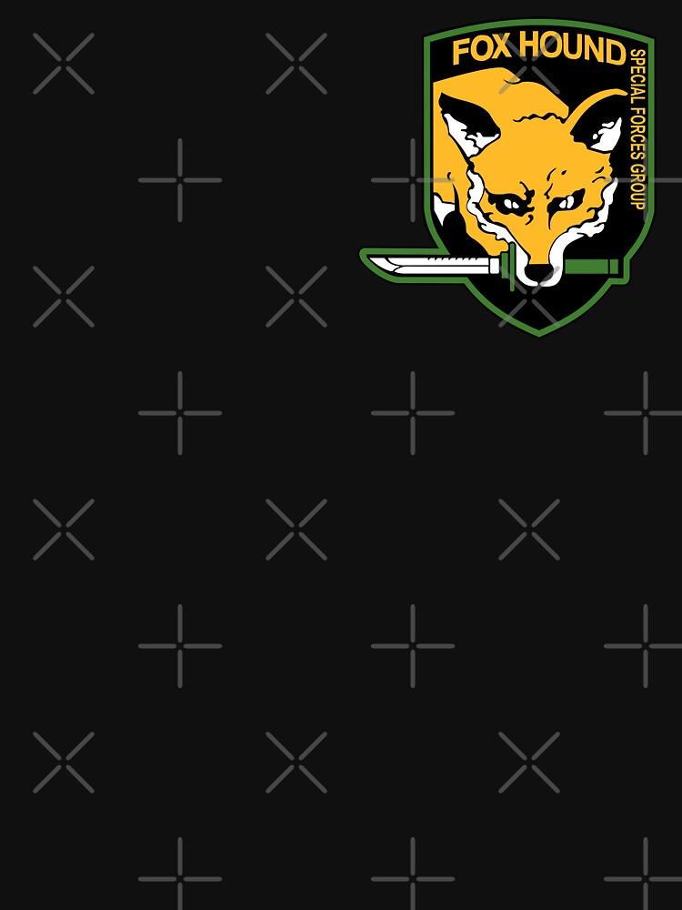 Metal Gear Solid - Fox Hound Emblem by Fireseed-Josh