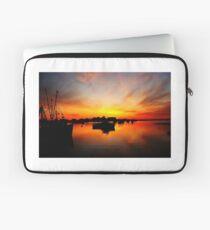 Sunrise at Rye Harbor. Laptop Sleeve