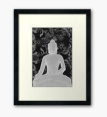 Seated Buddha Framed Print