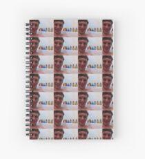 George Tub Spiral Notebook
