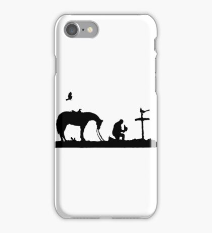 Cowboy's Prayer iPhone Case/Skin