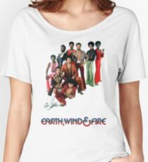 Earth, Wind and Fire - Maurice White Tribute Women's Relaxed Fit T-Shirt