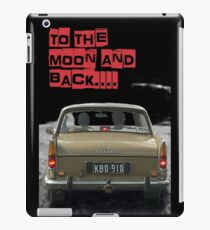 to the moon and back....  iPad Case/Skin