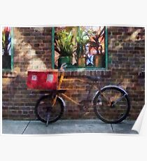 Delivery Bicycle Greenwich Village Poster