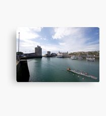 France - La Rochelle - harbor and crew Metal Print