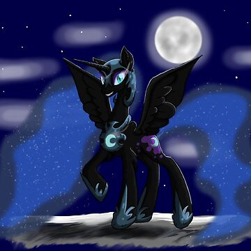 Sweet Dreams - Nightmare Moon by yukikosnowflake