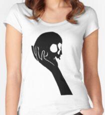 Alas Poor Yorick Women's Fitted Scoop T-Shirt