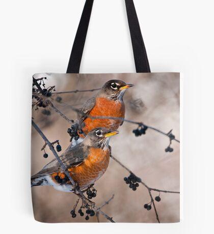 American Robins Tote Bag