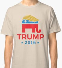 Donald Trump for President 2016 Elephant Classic T-Shirt