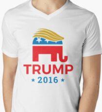 Donald Trump for President 2016 Elephant Men's V-Neck T-Shirt