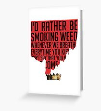 JAMES JOINT Greeting Card