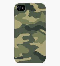 Camo khaki iPhone 4s/4 Case