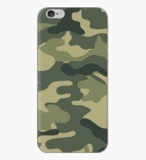 Camo khaki iPhone Case