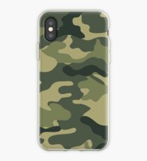 Camo khaki iPhone Case