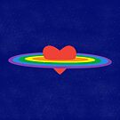 Rainbow Love by icelaperezbravo