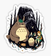 spirits of the forest Sticker