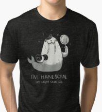 i'm handsome Tri-blend T-Shirt