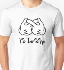 """To Infinity (Matches with """"And Beyond"""") Unisex T-Shirt"""