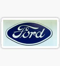 Old Retro Ford Logo Sticker