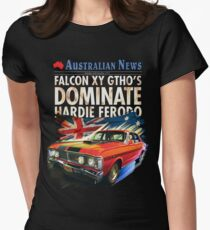 Ford Falcon XY GTHO Phase III (nostalgic) © Women's Fitted T-Shirt