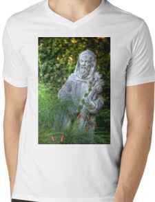 Father Nature Mens V-Neck T-Shirt
