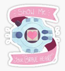 Brave Heart Sticker