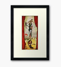 Haunted Mansion - Stretching Combo Framed Print