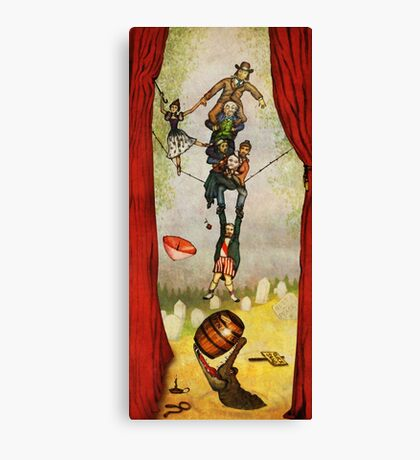 Haunted Mansion - Stretching Combo Canvas Print