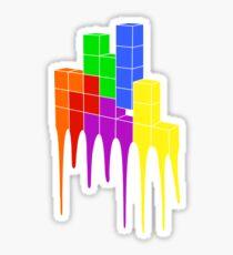 Tetris Melt Sticker