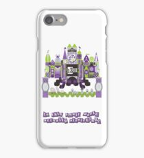 Is This Small World Actually Stretching? iPhone Case/Skin