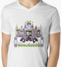 Is This Small World Actually Stretching? Men's V-Neck T-Shirt