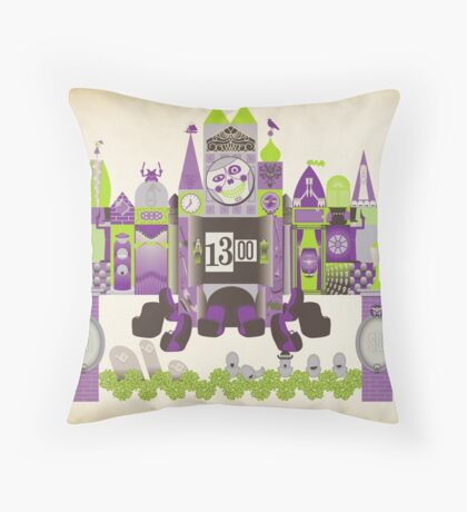 Is This Small World Actually Stretching? Throw Pillow