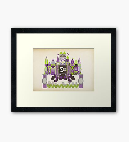 Is This Small World Actually Stretching? Framed Print