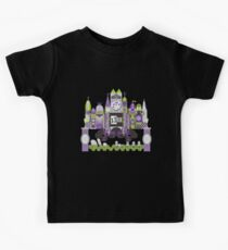 Is This Small World Actually Stretching? (for Darker Rides) Kids Tee