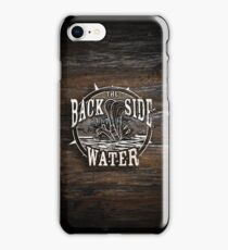 Back Side of Water (White) iPhone Case/Skin