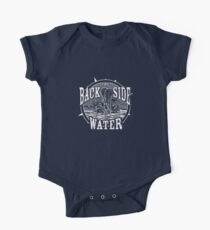 Back Side of Water (White) Kids Clothes