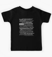 I am your host, your Ghost Host...(White) Kids Tee