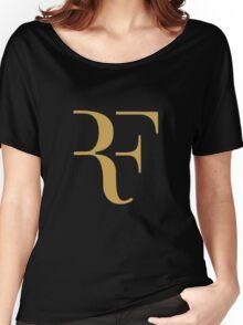 Roger Federer gold Women's Relaxed Fit T-Shirt