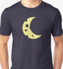 moon from cheese  Unisex T-Shirt