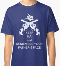 Keep KA - white edition Classic T-Shirt