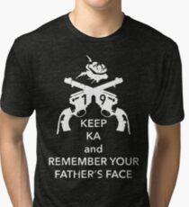 Keep KA - white edition Tri-blend T-Shirt
